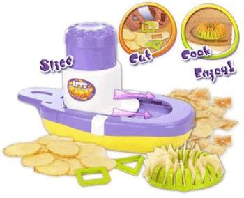 Fabrica de chipsuri - jucarie pentru copii pentru facut chipsuri din cartofi