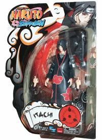 Figurina cu personajul Itachi Naruto - superarticulata cu peste 25 puncte articulatie, doua perechi de maini interschimbabile, perfect detaliata.