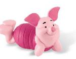 Figurine Winnie de Plus - Porcusorul cel fricos