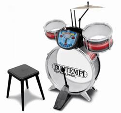Set de tobe cu scaunel - jucarie muzicala de la bontempi