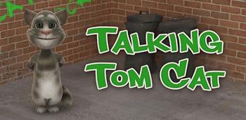 Personajul Talking Tom Cat de la Talking Friends Outfit 7