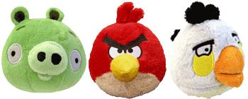 Jucarii figurine Angry Birds din plus cu sunete