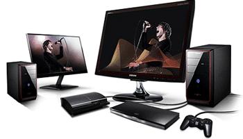 Monitoare LED PC cu TV Tuner digital integrat si redare USB