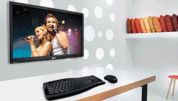 Monitor PC folosit si ca televizor LED IPS LG M2342D-PZ