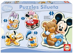 Set puzzle copii 2, 3 si 4 ani Mickey Mouse Clubhouse