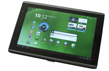 Tableta Acer Iconia cu Android, USB, Wi-FI, camera foto puternica si conectare la PC, TV, Internet