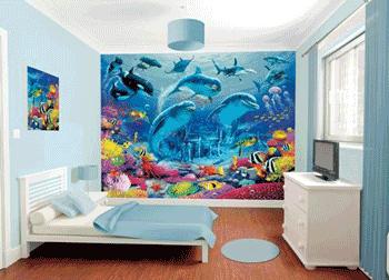 Tapet pentru camera copilului - Minunata Lume a Oceanului