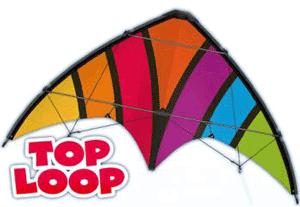 Zmeu zburator dirijabil Top Loop pentru incepatori si copii peste 8 ani.