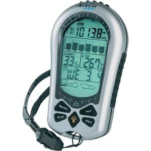Altimetru, barometru, termometru, higrometru, ceas cu alarma de buzunar pentru urcat pe munte