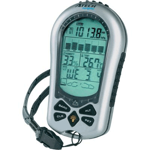 Altimetru si barometru digital de buzunar