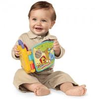 Carticica jucarie muzicala electronica pentru bebelusi