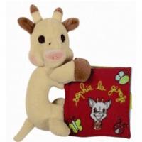 Carticica din material textil pentru bebelusi - Girafa Sophie de la Vulli