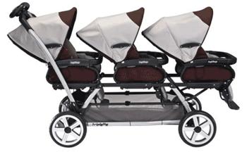 Carucioare pentru tripleti sir indian Peg Perego Triplette