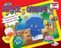 Mai multe peisaje pentru copii carte origami