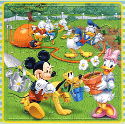 Puzzle-uri tematice Mickey Mouse Clubhouse pentru copii si nu numai
