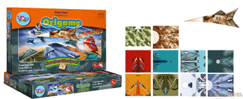 Joc creativ educativ Origami cu avioane