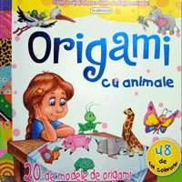 Modele de origami cu animale pentru copii