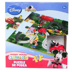 Puzzle urias de podea Mickey Mouse