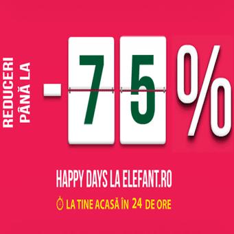 Happy Days – Reduceri Elefantissime jucarii, carti, eBooks, eReadere!