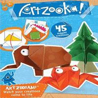 Set creatie hartie origami modele cu animale pentru copii