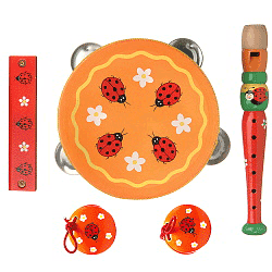 Instrumente muzicale pentru copii Buburuza.