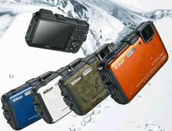 Aparat foto digital NIKON AW100 subacvatic cu GPS Integrat