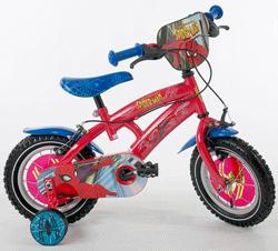 Bicicleta Spectacular Spiderman baieti 3-9 ani