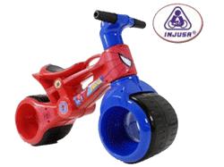 Bicicleta Spiderman pentru copii de 18 luni.