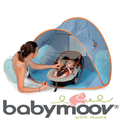 Cortul Babymoov: Protejeaza bebelusul de razele ultraviolete