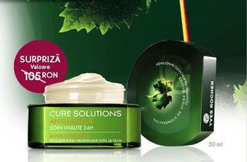Crema vitalitate 25h cadou Yves Rocher