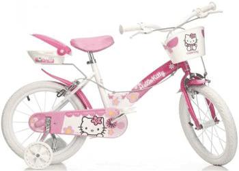 Dino Bikes - Biciclete fetite 4-7 ani Hello Kitty 154N
