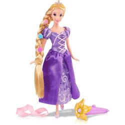 Noua Papusa Rapunzel Pozeaza & Stilizeaza - cu accesorii