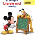 Manuale Limba Romana Disney School Skills pentru copii de 4 ani de gradinita Mickey Mouse