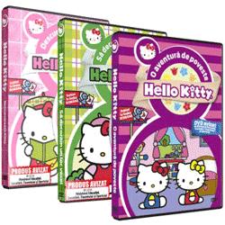 Colectia de DVD-uri cu desene animate Hello Kitty
