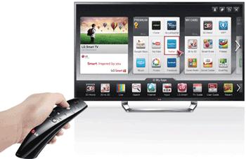Telecomanda magica LG Ultra TV 84LM960V - cel mai mare TV