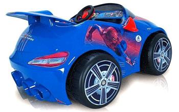 Masinuta electrica de la Injusa pe care copilul tau o va adora, la fel de mult ca pe Spiderman. O masinuta super speciala!