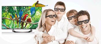 Ochelarii 3D Ultra HD LG 84LM960V