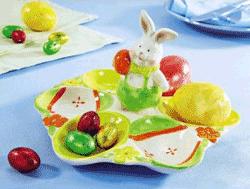 Platou tematic pentru ouale de Paste