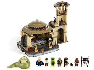 Star Wars Lego Palatul lui Jabba cu figurine Razboiul Stelelor
