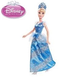 Papusa Printesa Disney Cenusareasa, articulata si cu accesorii.