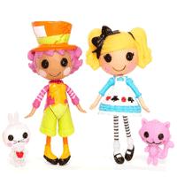 Lalaloopsy Alice si Wacky Hatter - Palarielul cel nebun in LalaloopsyLand