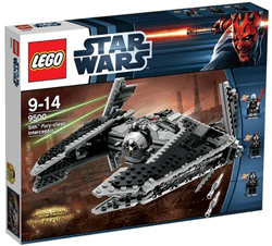 Star Wars Lego Sith Fury Clas Interceptor