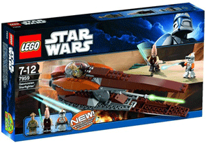Set LEGO Star Wars Original Starfighter Geonosian
