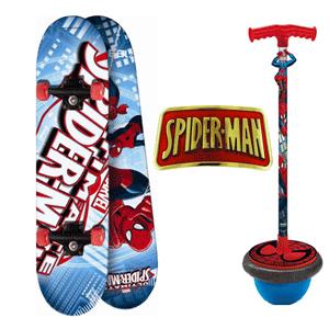 T-Ball si Skateboard Spiderman pentru copii