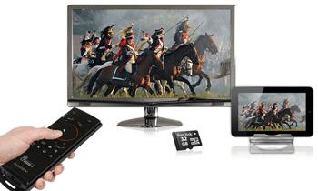 Tableta Allview Speed City se conecteaza la TV prin HDMI