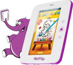 Tableta educativa pentru copii 3 ani + Evolio Tabby