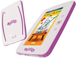 Tableta Tabby beneficiaza de aplicatiile preinstalate PitiClic si Kidsopia.