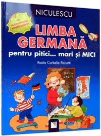 Carti ilustrate si CD-uri pentru invatarea limbii germana pentru copii