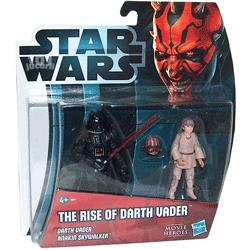 2 Figurine Star Wars Darth Vader si Anakin Skywalker