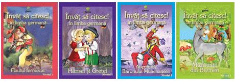 Carti cu povesti pentru copii in limba germana